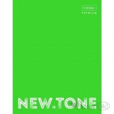 Папка на кольцах для тетради А5 глянц. ламинация NEWtone neon лайм ПК5_00934 Hatber