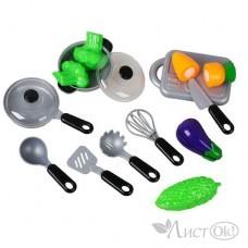 Набор посуды и продуктов
