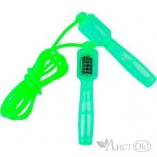 Скакалка со счетчиком 2,6 м, d=0,5 см, цвета микс 2942352 ONLITOP