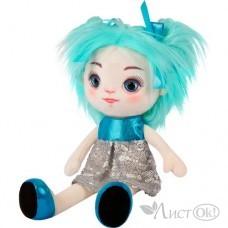 Игрушка мягкая Кукла Карина в Сине-Серебряном Платье, 35 см MT-MRT121912-35 МаксиТойз
