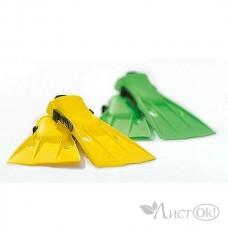 Спорт Ласты р-р 38-40 желтые И55937 INTEX