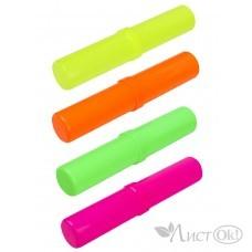 Пенал-тубус Флюоресцентные цвета ассорти