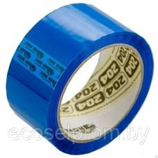 Клейкая лента 48*66 синий 43мкм 0120-440Х Нова Ролл