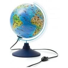 Глобус интерактивный Зоогеографический 210мм (детский) с подсветкой + VR очки INT12100296 Глобен