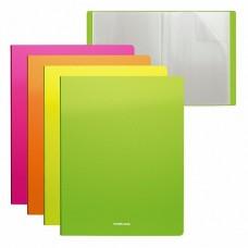 Папка 10 файлов Diagonal Neon ассорти 500мкм 17мм 46102 ERICH KRAUSE