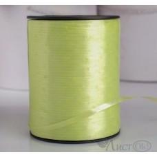 Лента декоративная светло-салатовая 5мм*500м 4499128