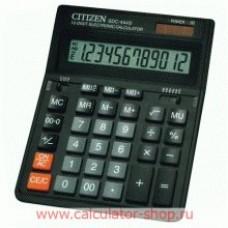 Калькулятор 12 разр. 199*153*30,5мм SDC-444S CITIZEN