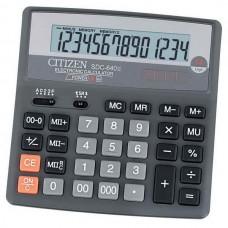 Калькулятор 14 разр. 156*156*31,3мм SDC-640II CITIZEN