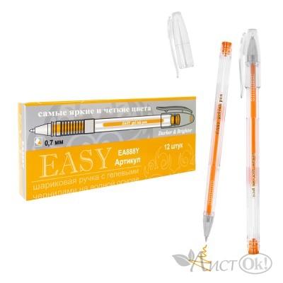 Ручка гелевая , 0,7*139мм 888Y EASY оранжевый