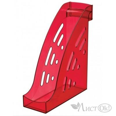 Лоток для бумаг вертикальный ТОРНАДО тонированный вишня ЛТ407 Стамм
