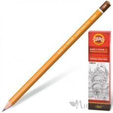Карандаш KOH-I-NOOR 1500, 3Н цена за 1 шт. 786596