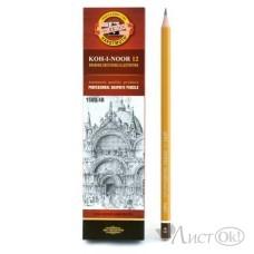 Карандаш KOH-I-NOOR 1500, 4В цена за 1 шт. Koh-I-Noor /12 /144 /4320 /0