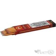 Карандаш KOH-I-NOOR 1500, 4Н цена за 1 шт.