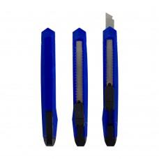 Нож канцелярский малый, 9мм, фиксатор, ЭКО 2125 J.Otten