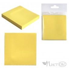 Бумага самокл. д/зап. /J.Otten/ (Р100) ЭКО, 76*76мм, жёлтая  /12 /0 /432