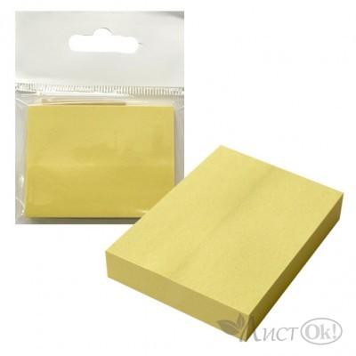 Бумага самокл. д/зап. ЭКО, 38*50мм, жёлтая /J.Otten/ (Р80)