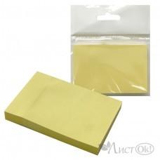 Бумага самокл. д/зап. /J.Otten/ (Р80) ЭКО, 76*51мм, жёлтая  /12 /0 /864