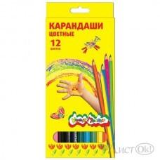 Карандаши цветные ККМ12 12цв, короб./ Каляка-Маляка /12 /0 /240 /0