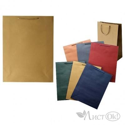Пакет подарочный Металлик, 44*32*10 см, цв.асс 984-5 J.Otten