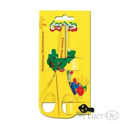 Ножницы детские 13,5 см безопасные/ НБКМ135 Каляка-Маляка
