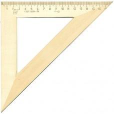 Треугольник деревянный 45°х18см С15 Можга