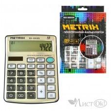 Калькулятор настольный, 12-разрядный, 2-е питание, 14х18см. MX-9800 METRIX