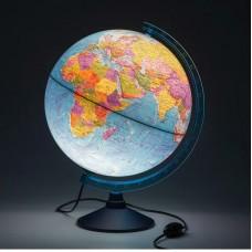 Глобус Политический 320мм Евро, с подсветкой Ке013200227 Глобен