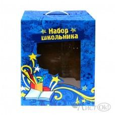 Коробка для ранца 30*19*39 см 15191-СИНЯЯ J.Otten