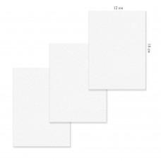 Холст грунтованный на картоне 12х18см, 5297-1 хлопок J.Otten /1 /0 /100 /0