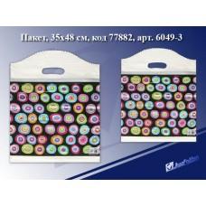 Пакет с прорубной ручкой Настроение, 35*48см, целлофан 6049-3 J.Otten