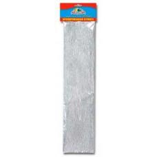 Бумага подел. креп 0307-02 50*200 32г/м Серебрянная Апплика /1 /20 /600 /0