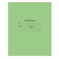 Тетрадь 12 л. узкая линия Зеленая, офсет 12Т5В7_05112/ Хатбер