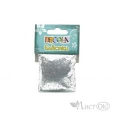Блестки декор.Декола 0,3мм серебро W041-202-0,3 ЗХК