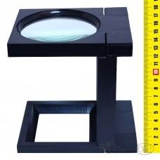 Лупа 1251 d-90мм, на подставке с подсветкой, 3-х крат.увел J.Otten /1 /10 /48 /0