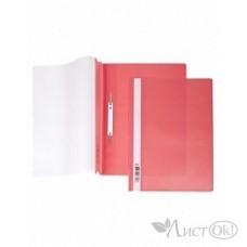 Папка-скоросш. 140/180мкм AS4_00103 А4 прозр. верх. лист красная Hatber /10 /0 /400 /0