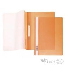 Папка-скоросш. 140/180мкм AS4_00116 А4 прозр. верх. лист оранжевая Hatber /10 /0 /400 /0