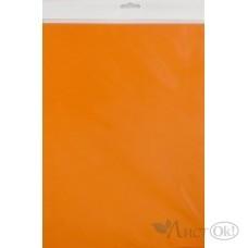 Бумага цветная 10л,  А4, тониров. ПЭТ ОРАНЖЕВЫЙ С3036-09 Апплика