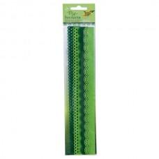 Набор бордюров из фетра декоративных, 2 мотива, 4 шт/уп, оттенки зеленого 52194 Folia