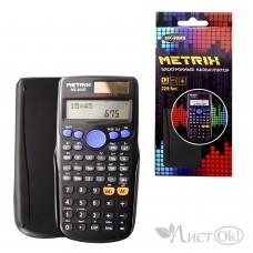 Калькулятор научный, 12-разрядный, 2-е питание, 229 функций, 17х8см. MX-89MS METRIX