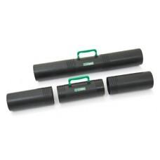 Тубус п/м для хр.черт. телескоп. D-10см длина 65см черный, с ручкой, 3 секции/ ПТ41 Стамм