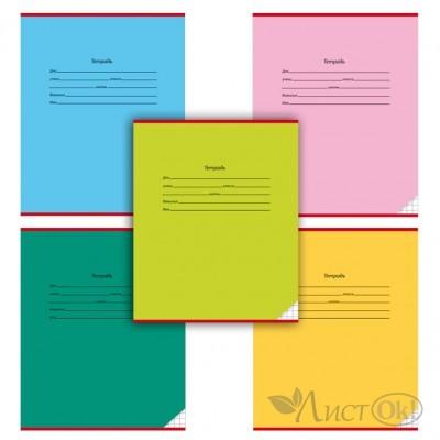 Тетрадь 12 л. клетка А5 КЛАССИКА, цвет.мелов.обл., 5 дизайнов в спайке 12131-12135 Проф-Пресс