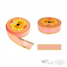 Лента для упаковки 48-1 розовая
