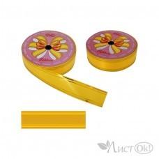 Лента для упаковки 48-4 желтая