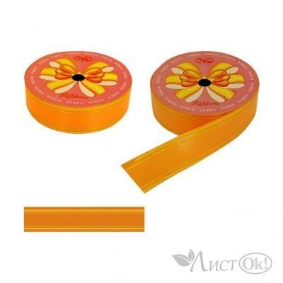 Лента для упаковки 48-6 оранжевая