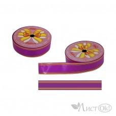 Лента для упаковки 48-8 ярко-розовая